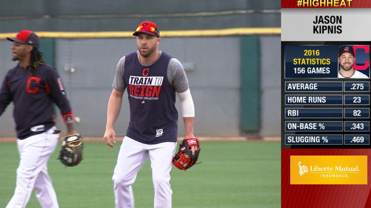 Kipnis timetable could change complexion of infield