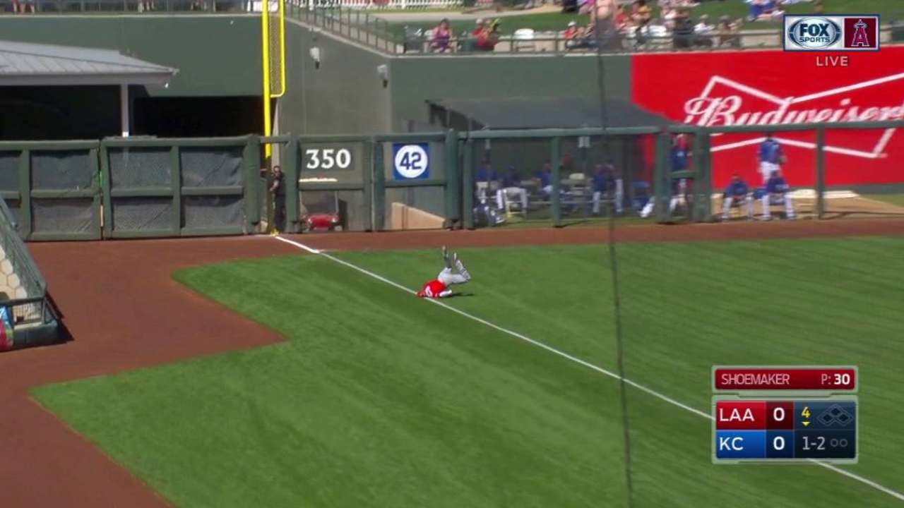 Revere's incredible diving catch