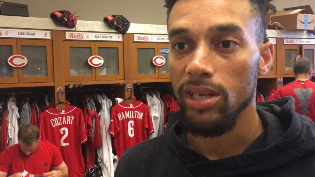 Hamilton sticking with switch-hitting, line-drive approach
