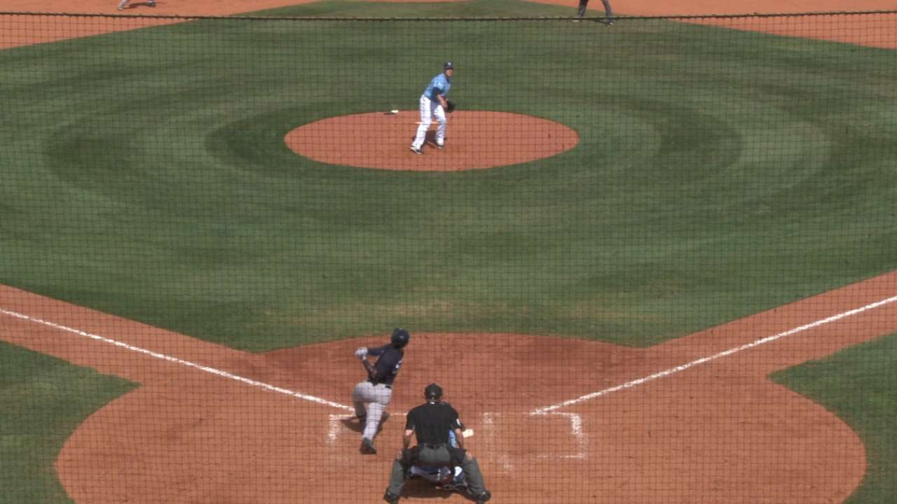 Torres' two-run home run