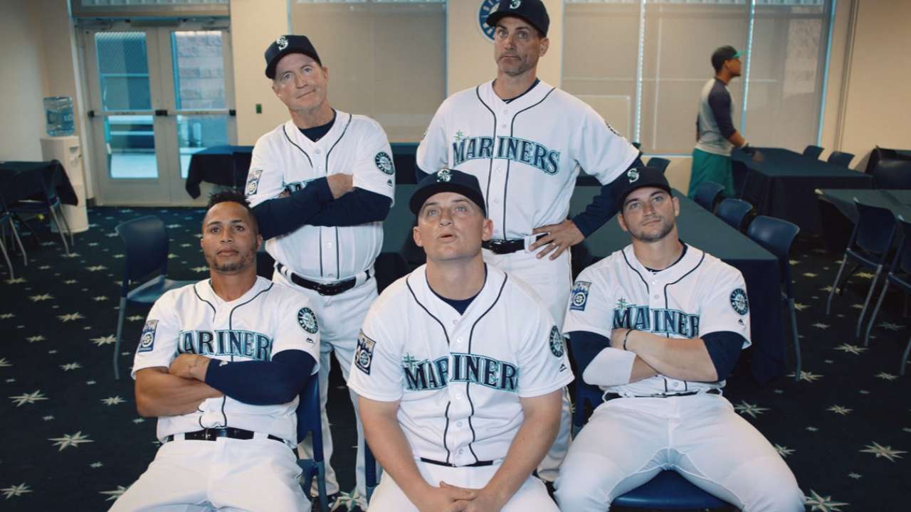 Mariners unveil latest set of commercials