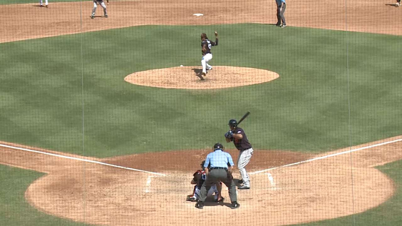 Gose's two-run double