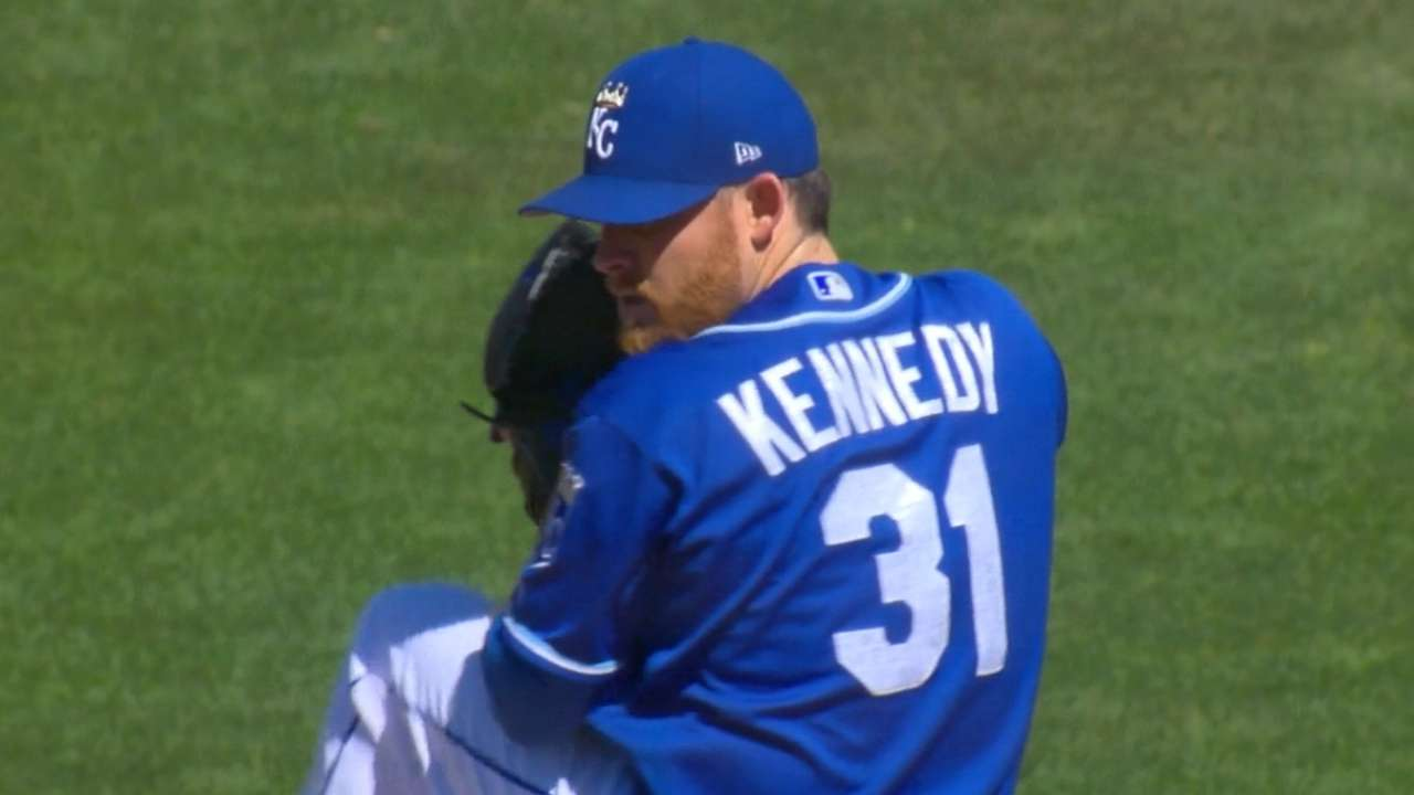 Kennedy on his scoreless start