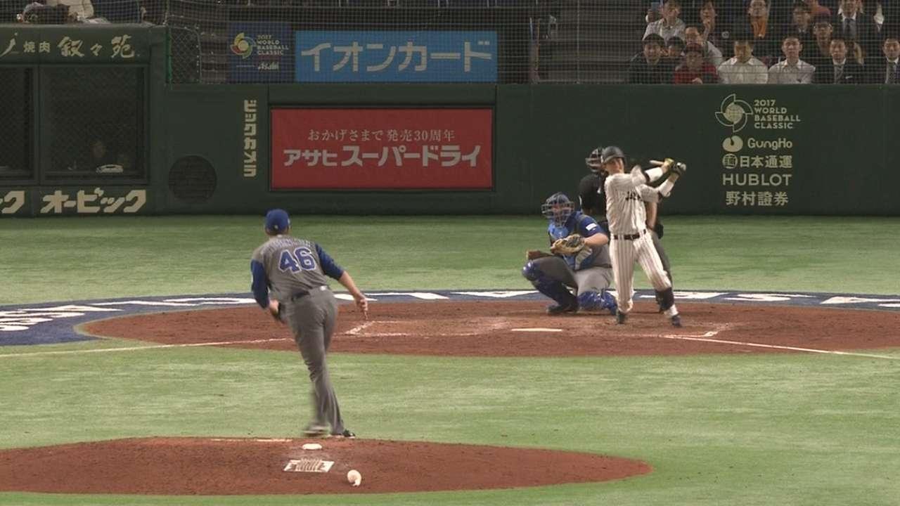 Kobayashi's RBI single