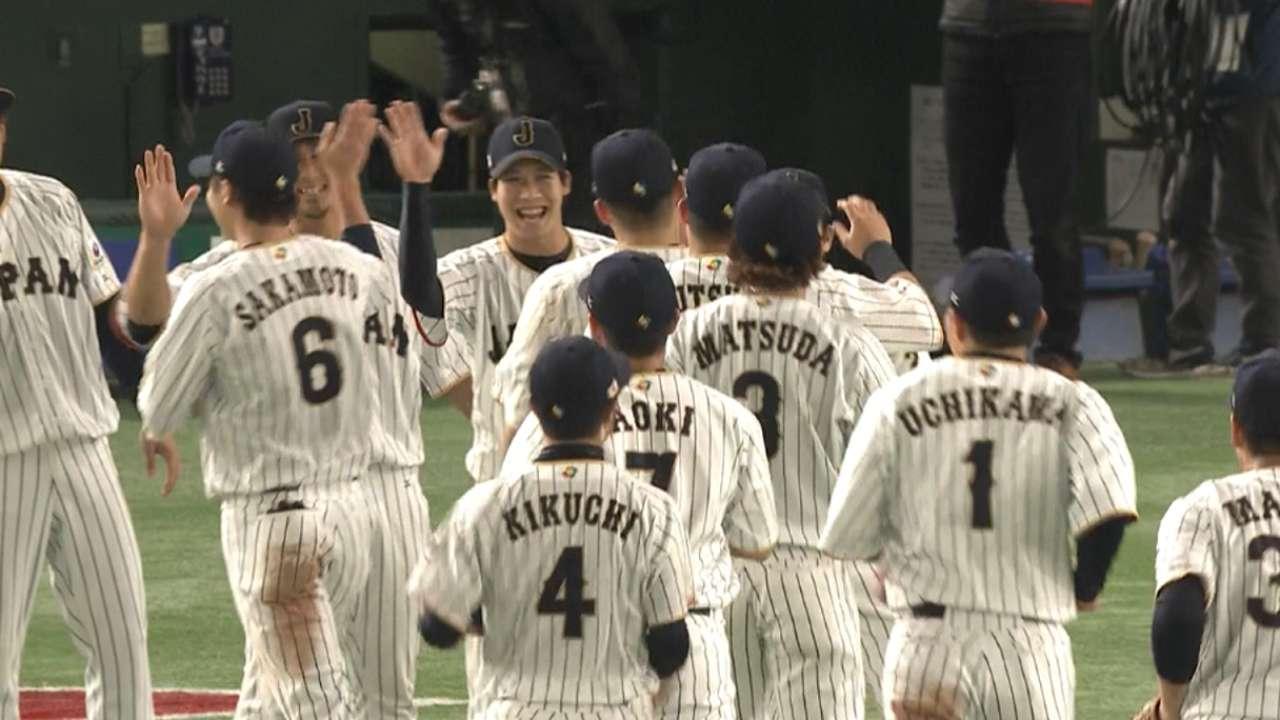 Makita seals Japan's win