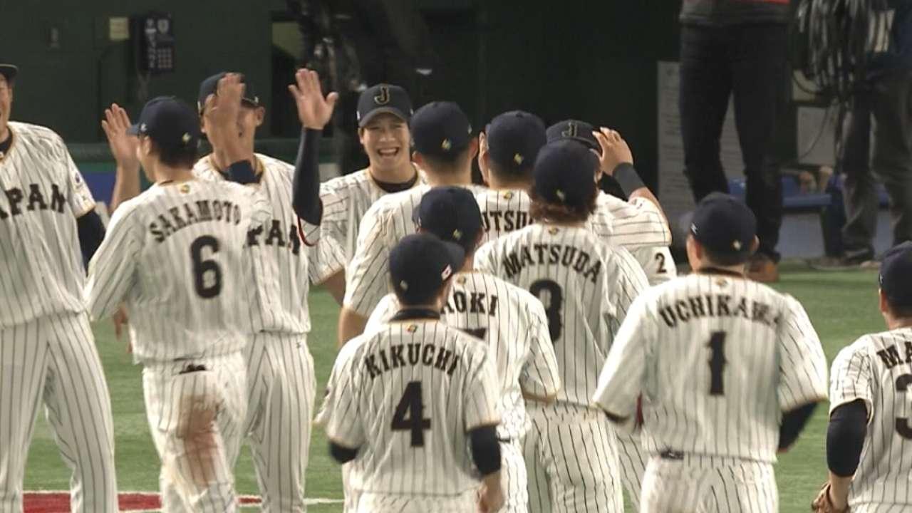 Japan advances to semifinals