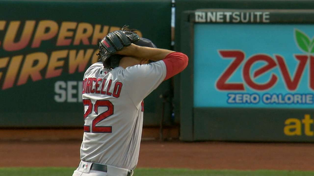 Porcello honored to receive Opening Day nod
