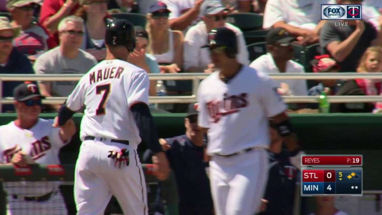 Buxton's RBI double