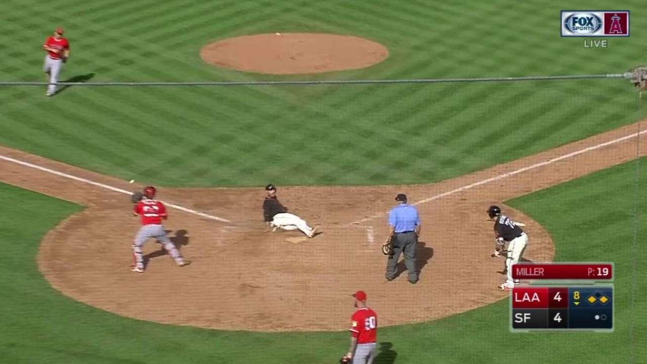 Bumgarner tosses 6 shutout innings; Morse clutch