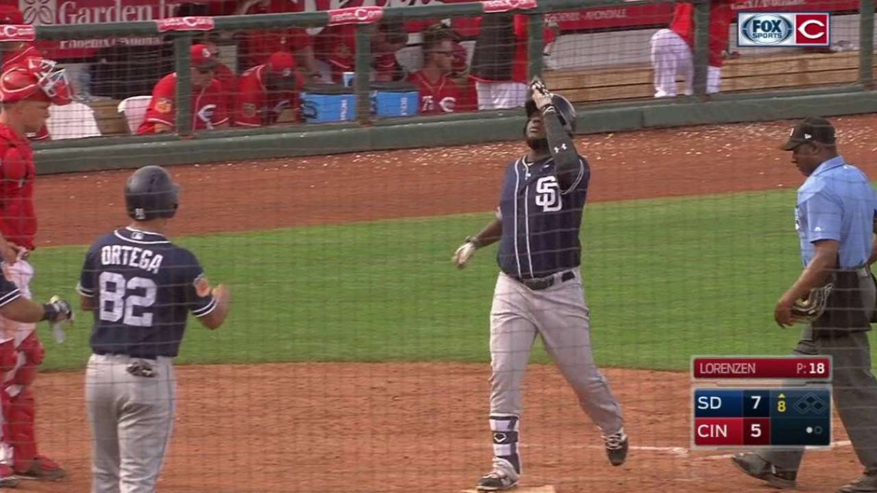 Moreno's go-ahead three-run shot