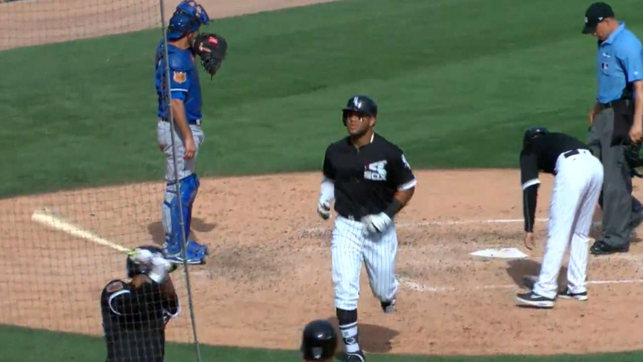 Moncada's two-homer game