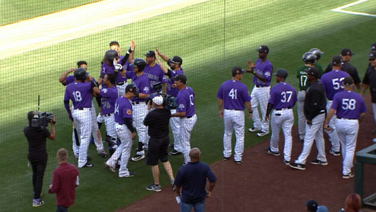 Adames' walk-off homer powers Rockies past Brewers