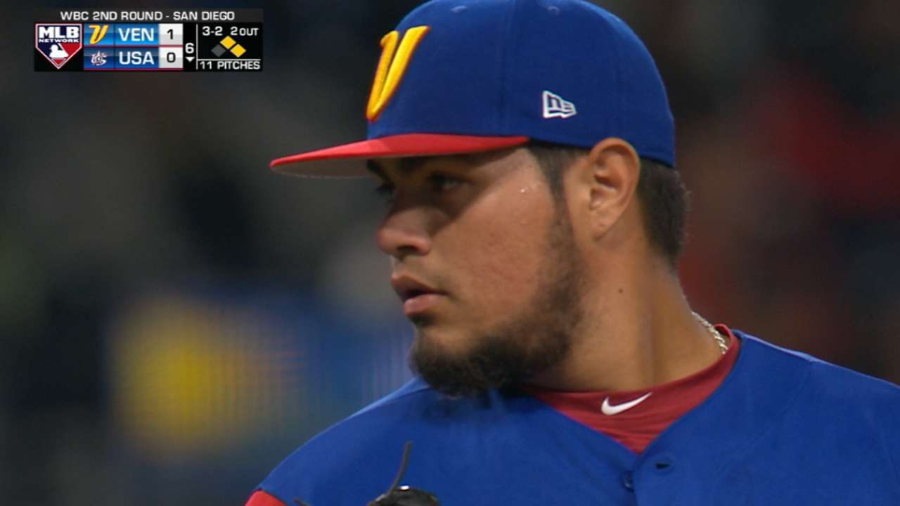 Castillo's clutch strikeout