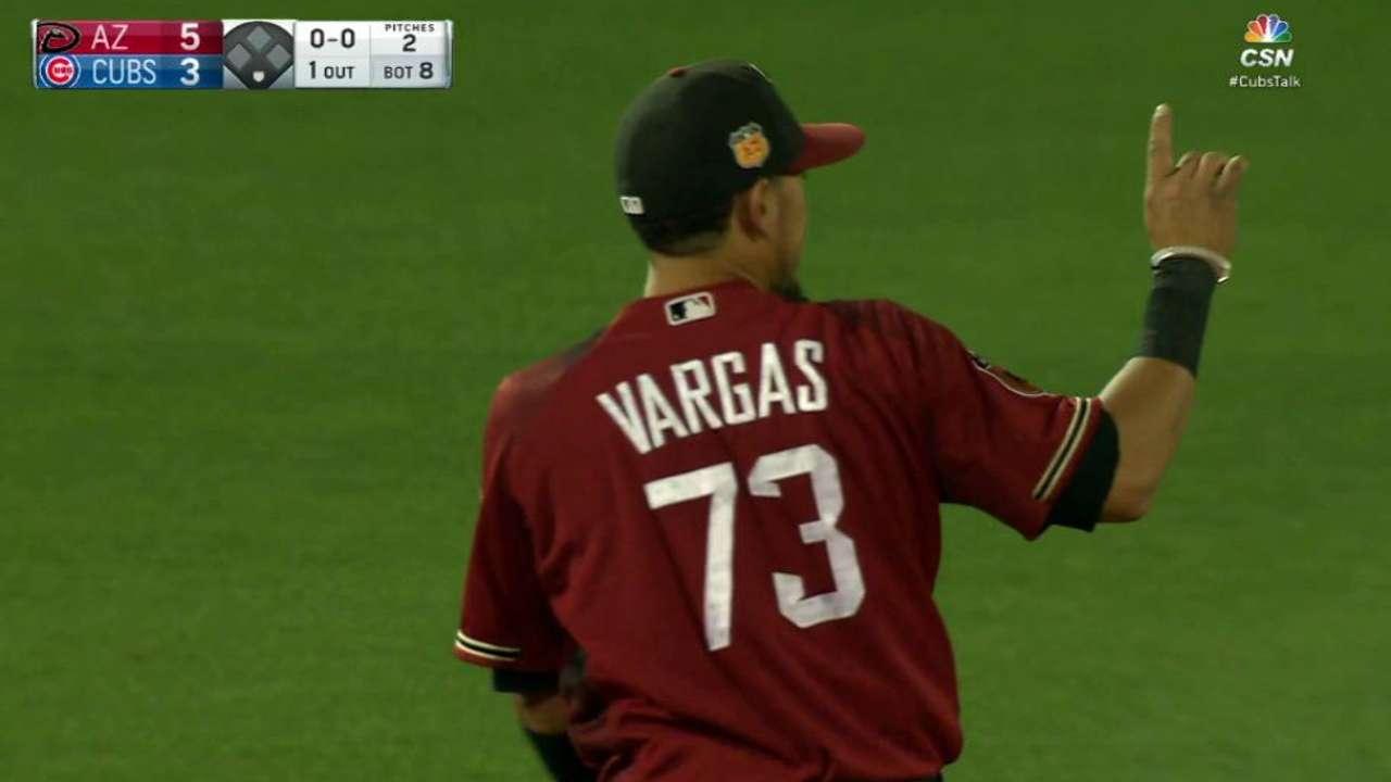 Vargas' nifty pick at short