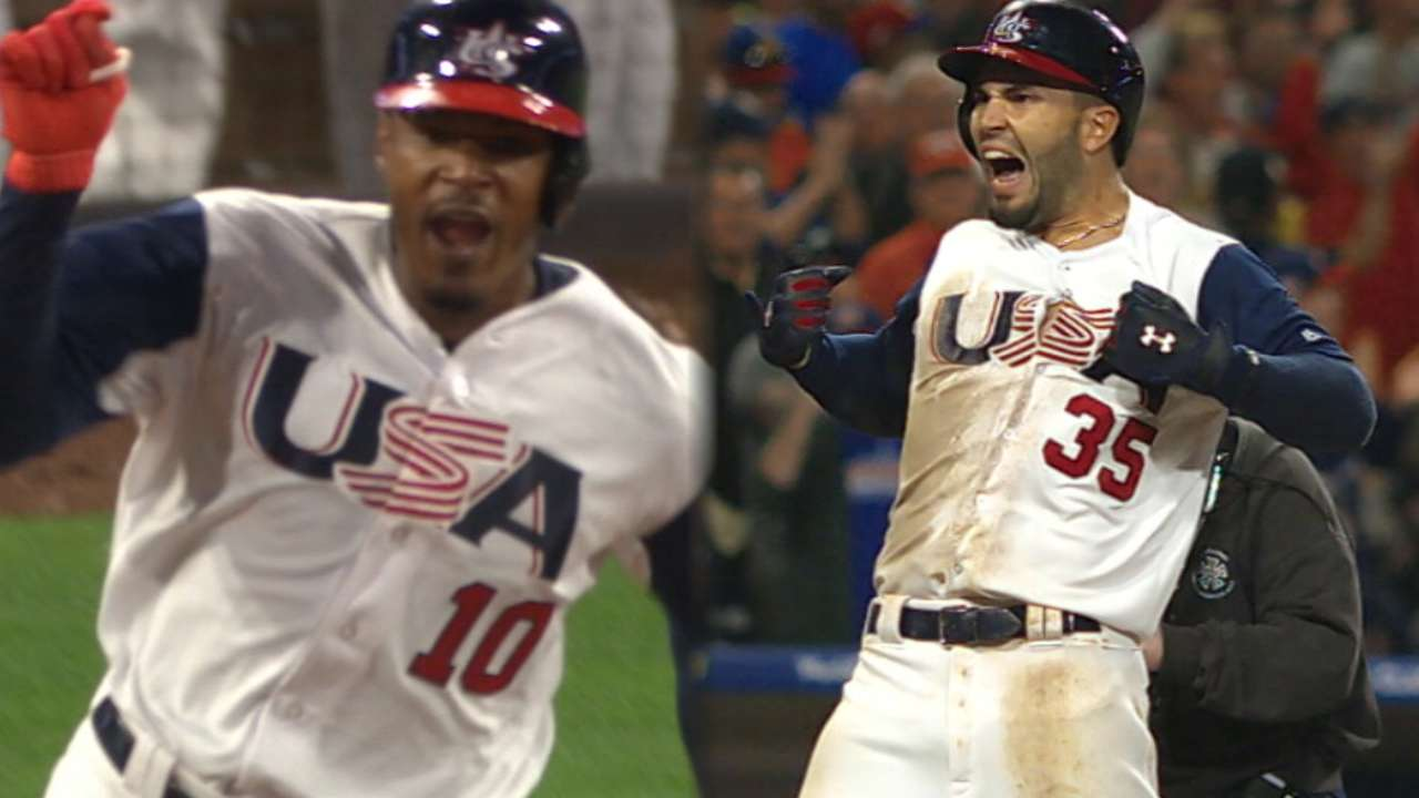 Elite 8th: Jones, Hosmer power USA rally