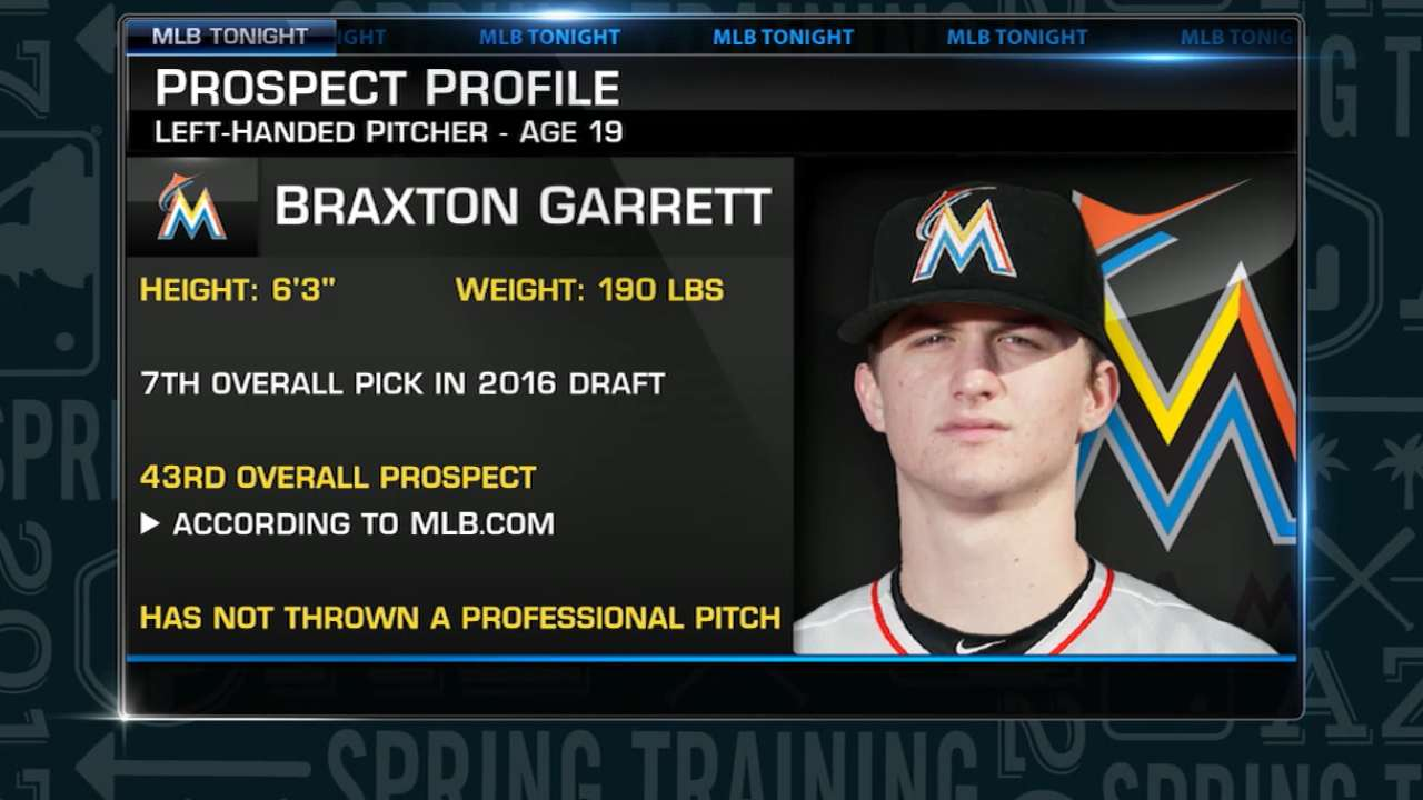 Pipeline report: Prospects in Marlins' camp