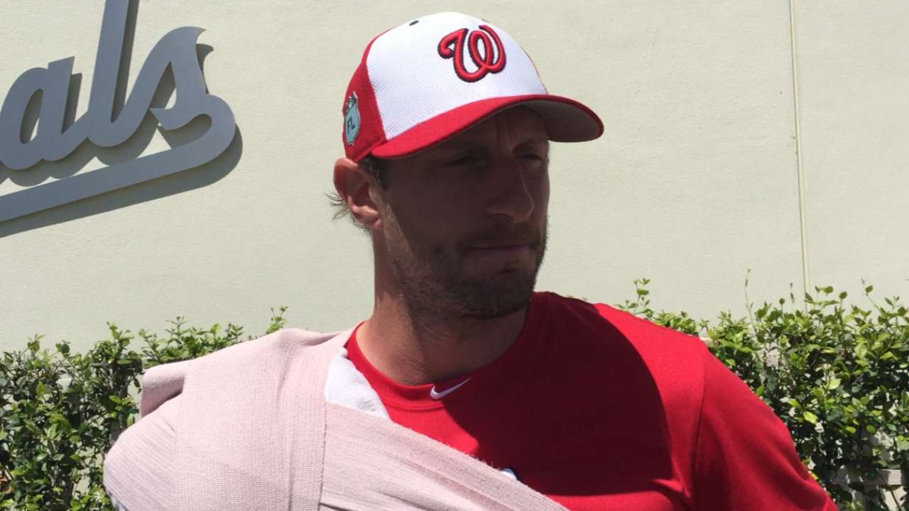 Scherzer: 'Now I feel back,' after Minors start
