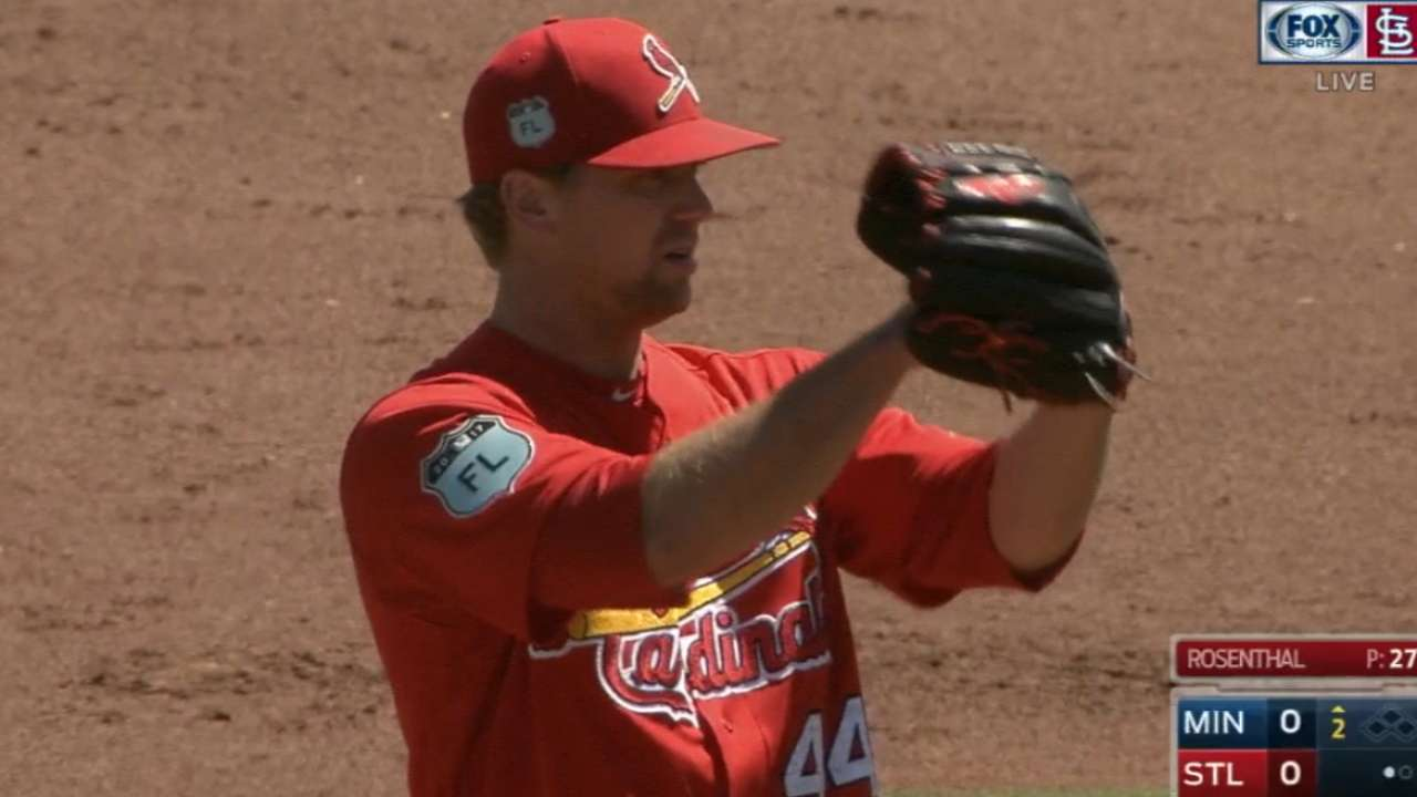 Rosenthal tosses two scoreless