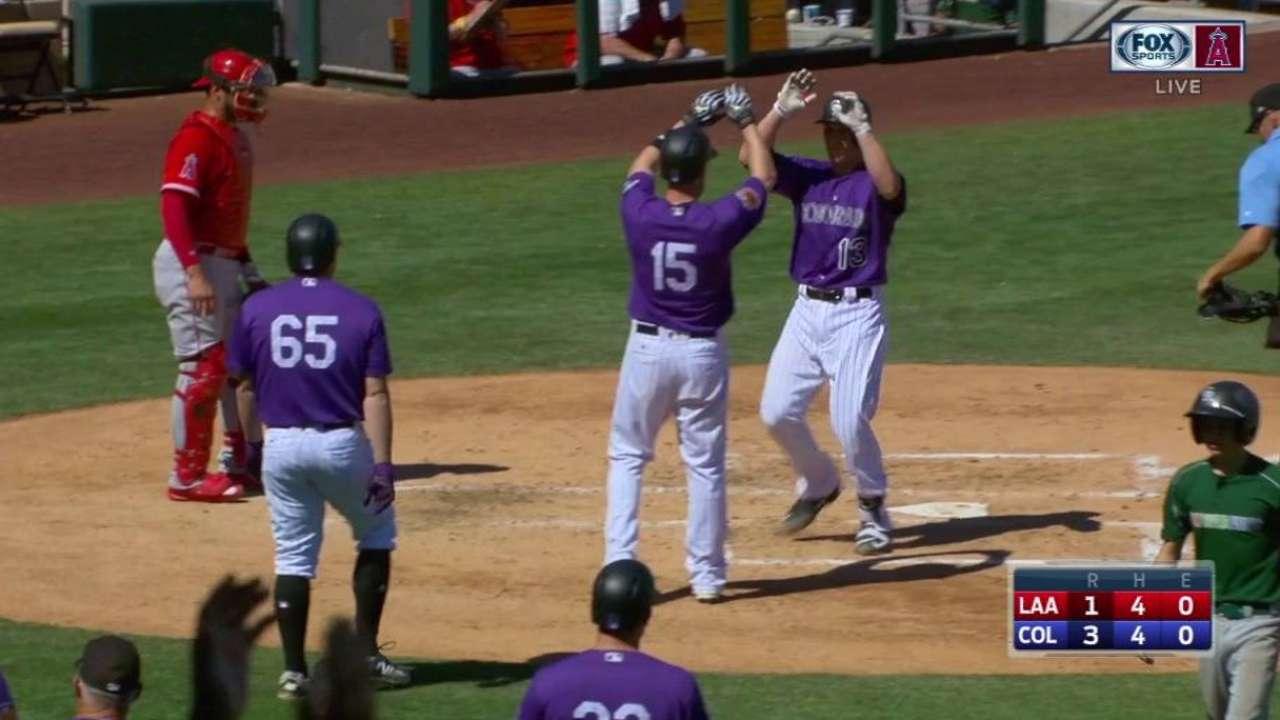 Garneau's three-run home run