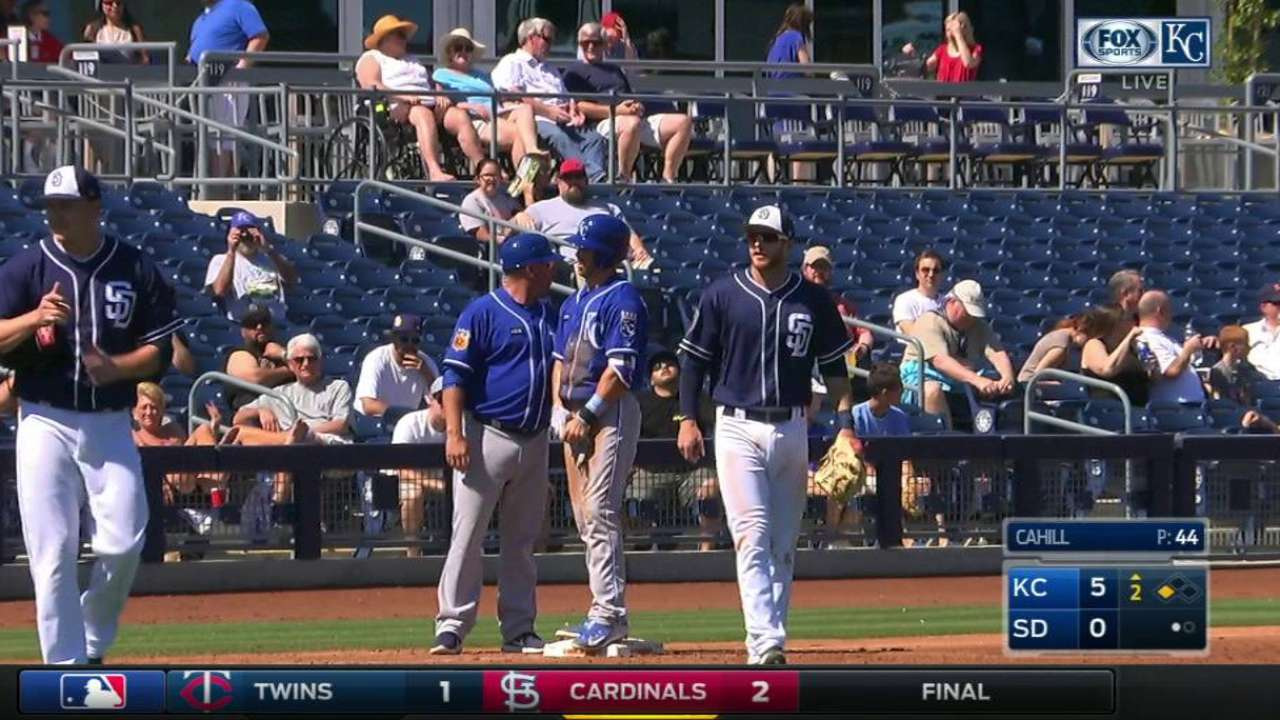 Merrifield's RBI triple