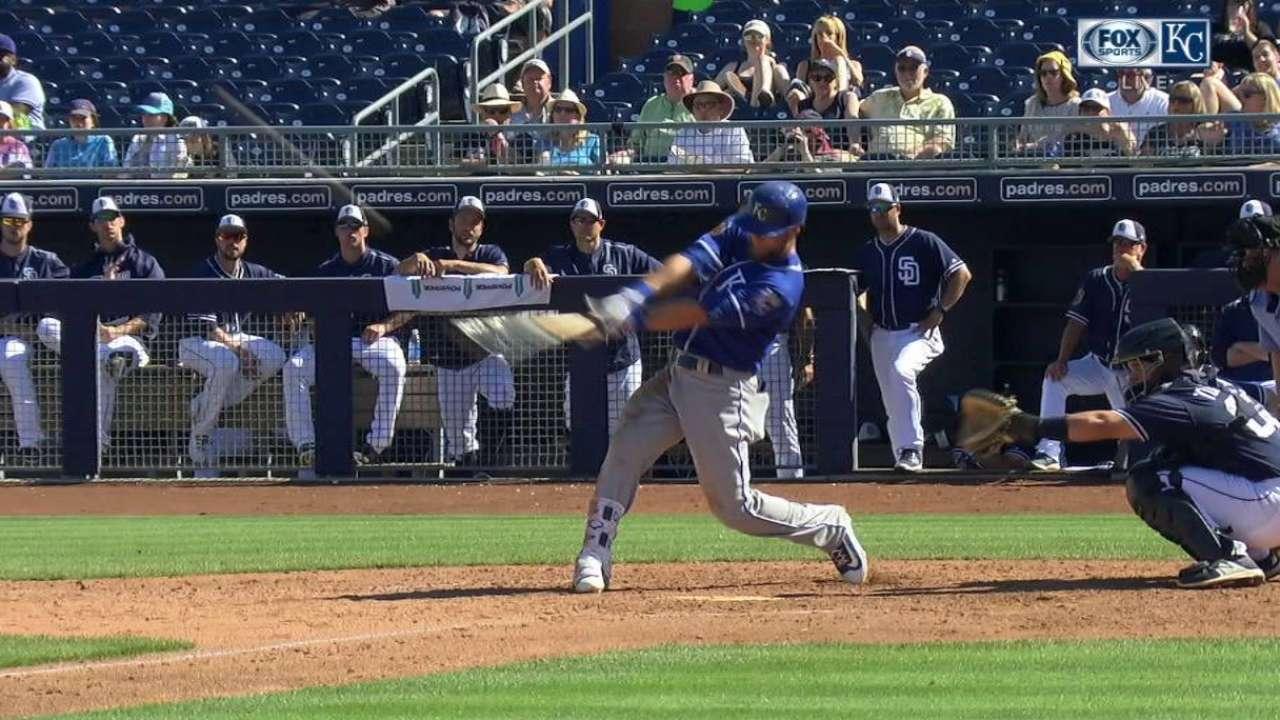 Gordon's two-run home run