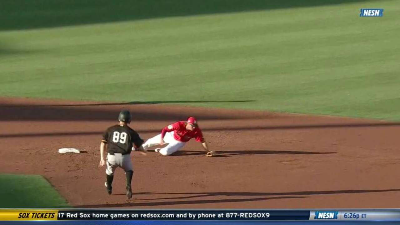 Rutledge's terrific double play