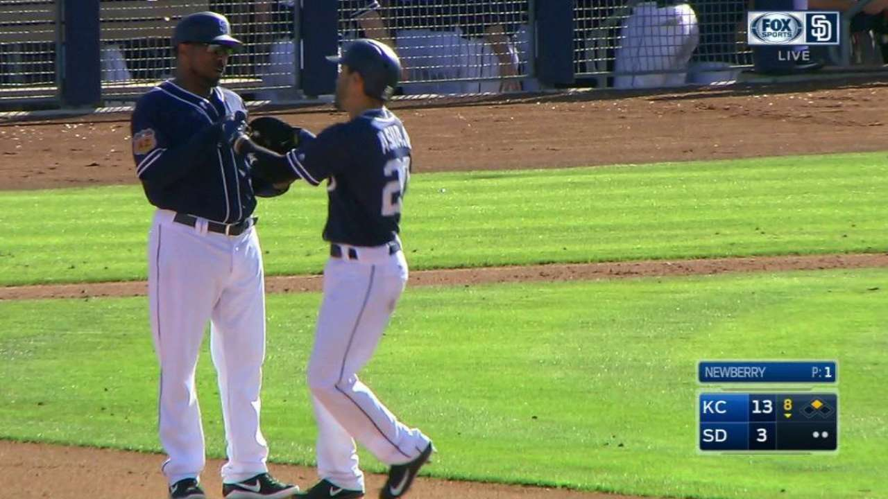 Infield cavalry Asuaje, d'Arnaud join Padres
