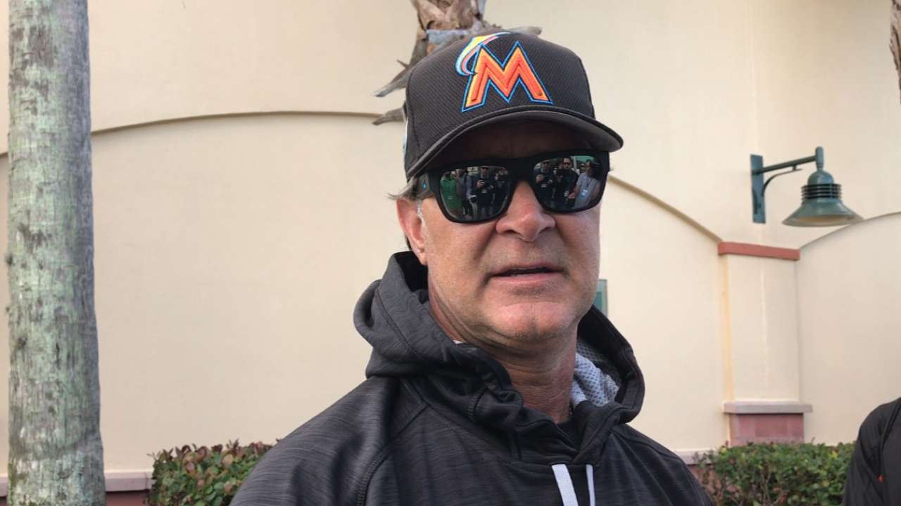 Dietrich ready for any challenge Marlins give him