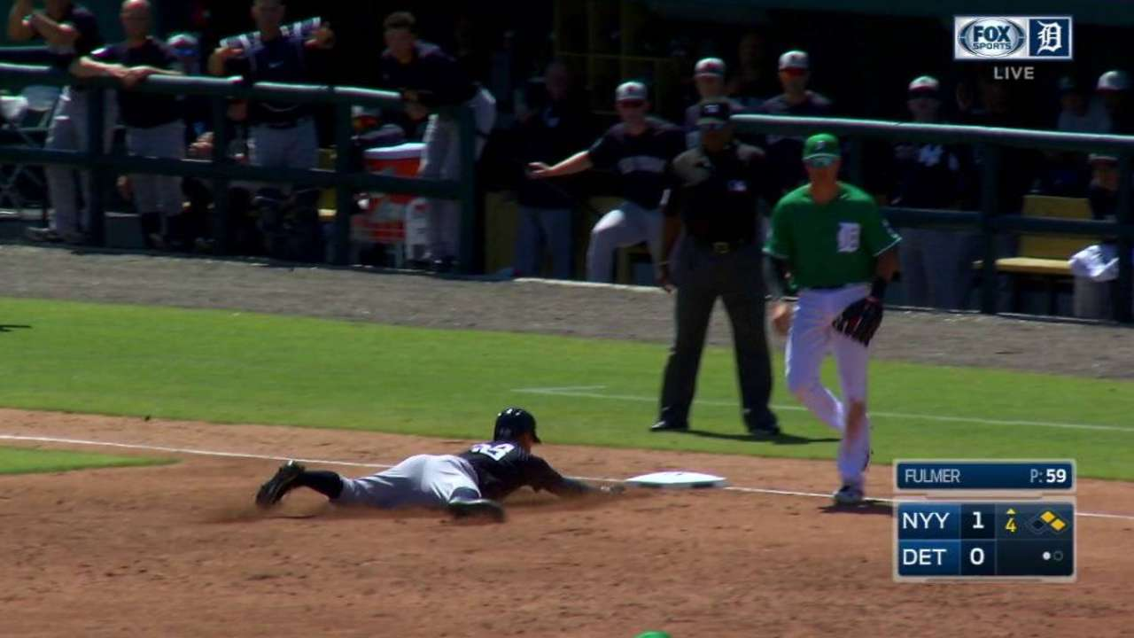 Refsnyder's RBI double