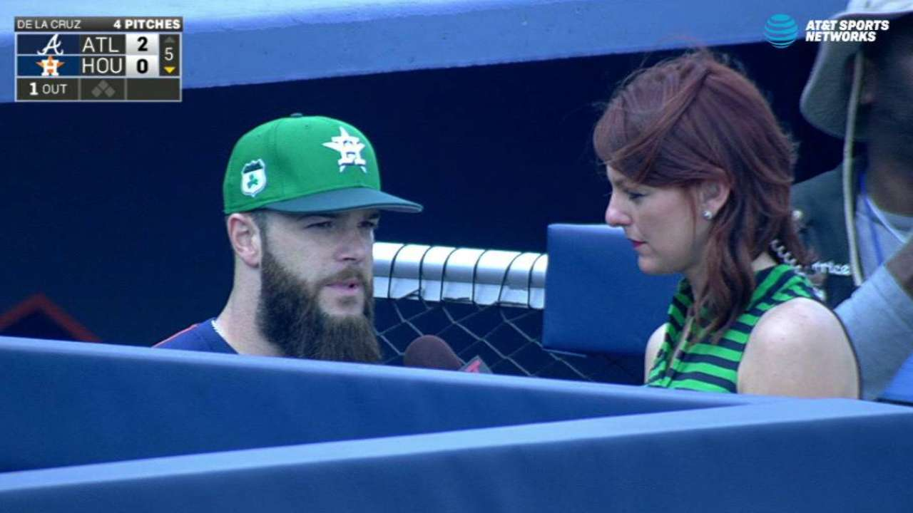Keuchel on his solid outing