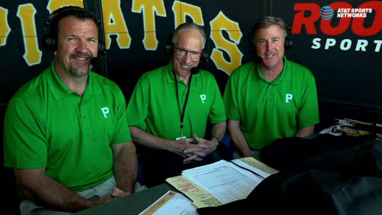 Doc Emrick joins Pirates booth
