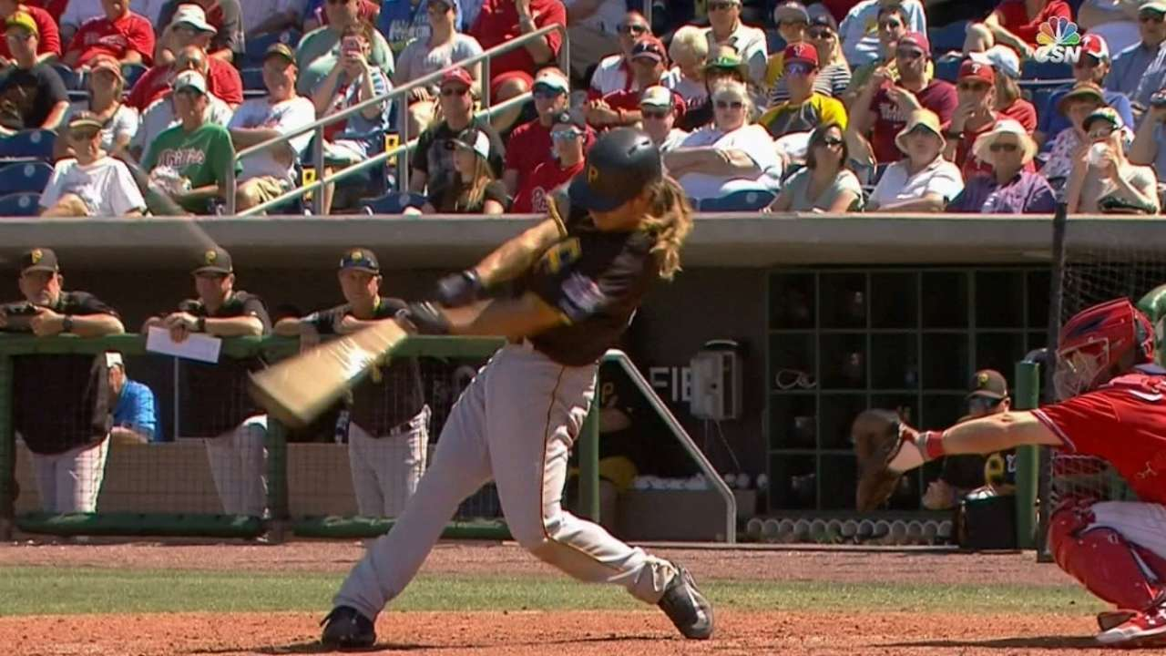 Jaso's HR, 5-run 3rd lead Bucs past Phils