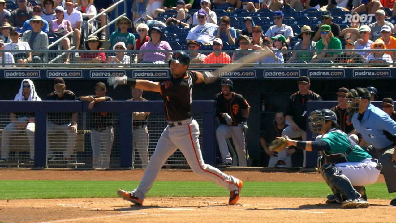 Panik's RBI double