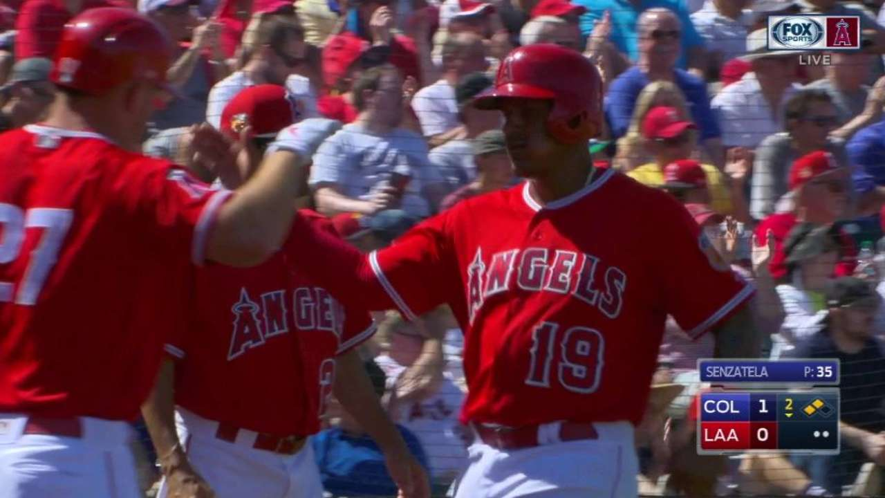 Perez, Pujols, Trout, Maybin break out bats
