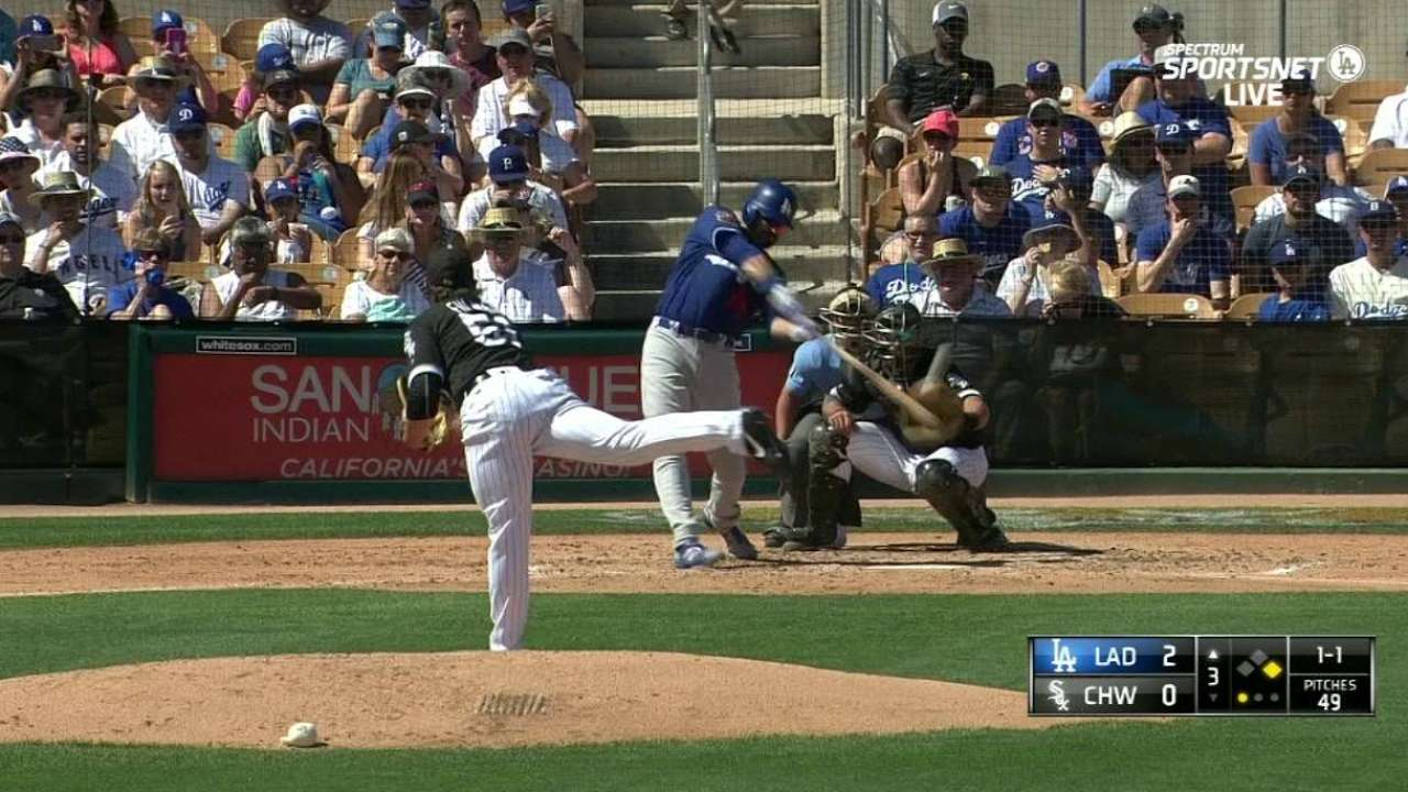 Ethier a late scratch with a sore back