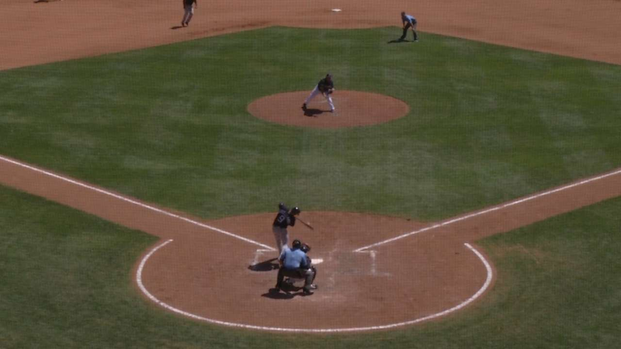 Challenge laid out for Castellanos to bat 2nd