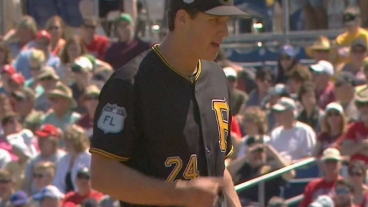 Glasnow revs up in drive for 5th starter spot