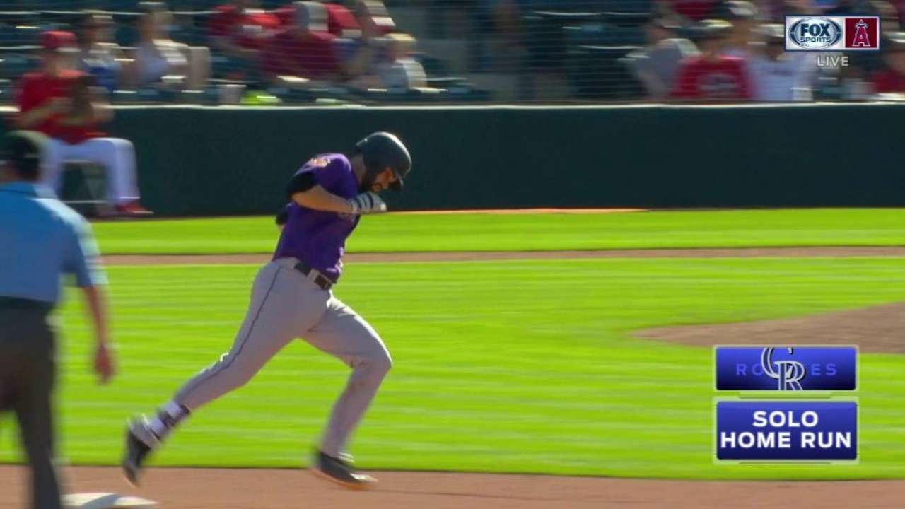 Bemboom's solo home run