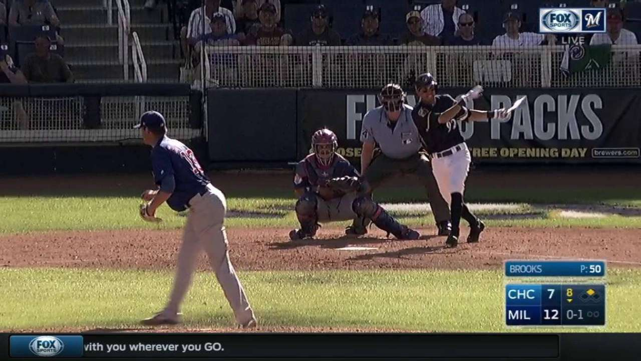 Young prospects join Brewers' 40-man roster