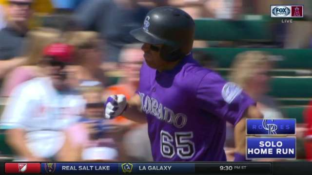 Cardullo's solo home run