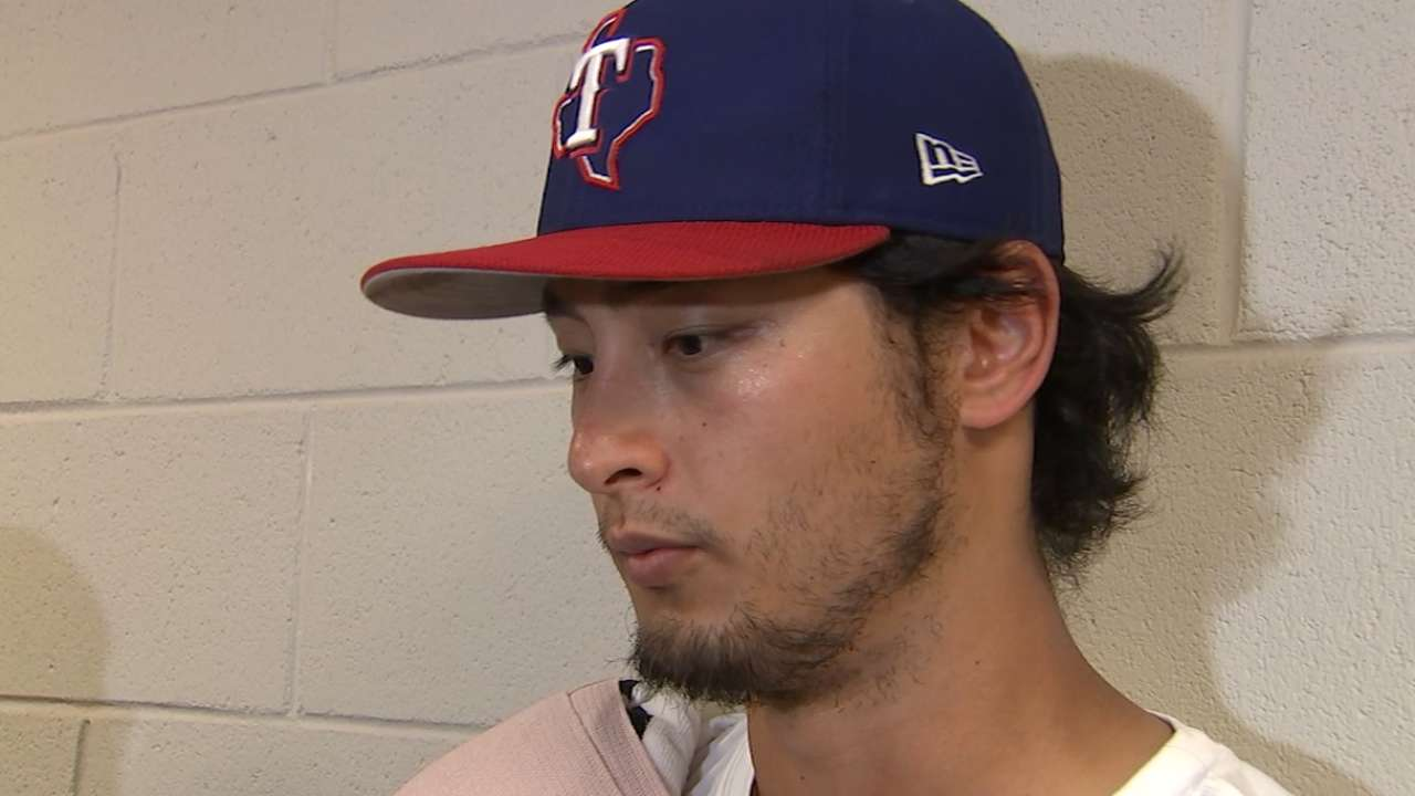 Texas open to in-season contract talks with Yu