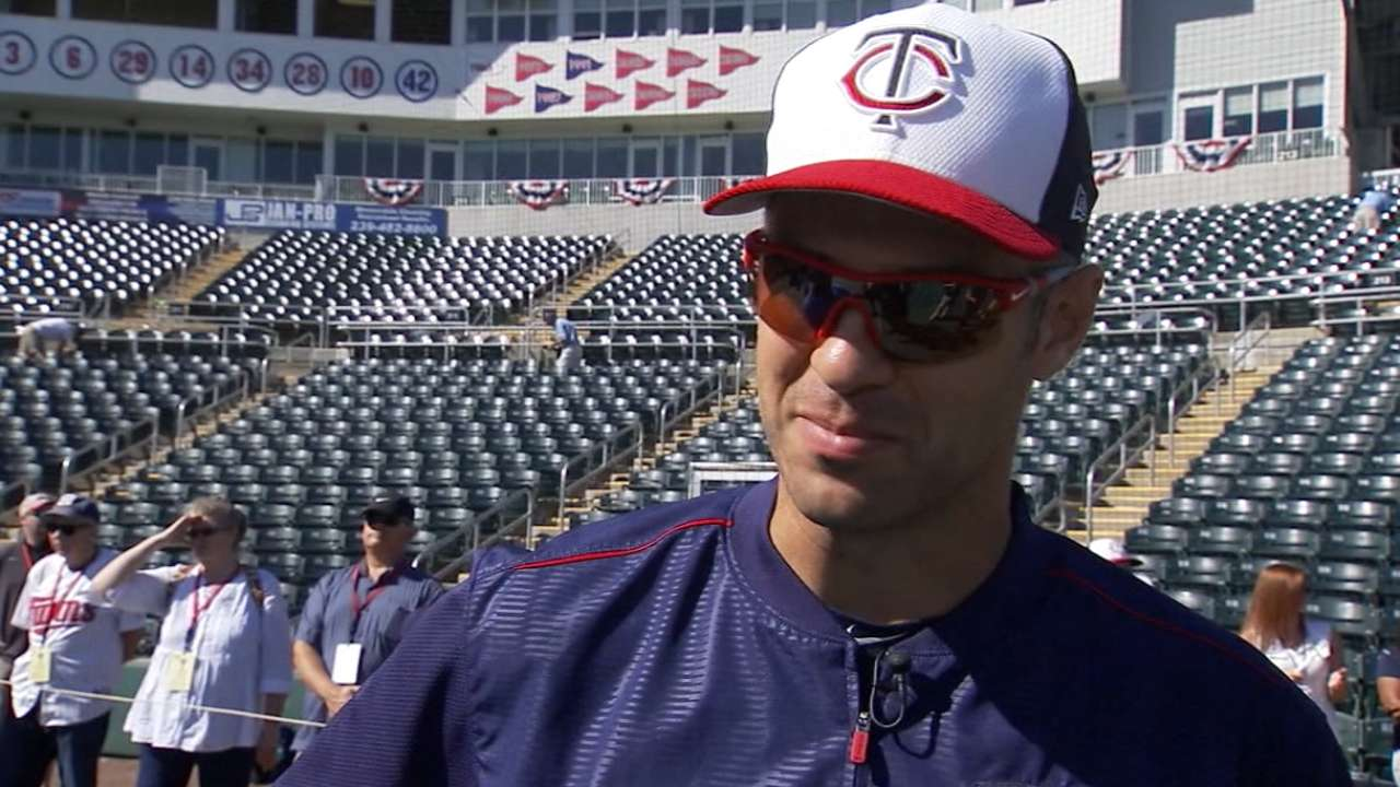Mauer on hitting approach