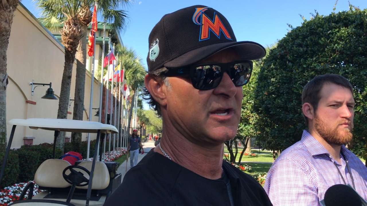 Mattingly wants to be patient with Prado