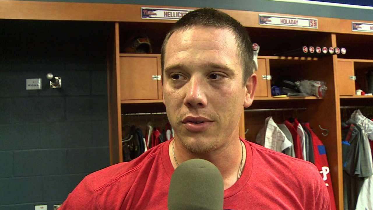 Hellickson on Opening Day