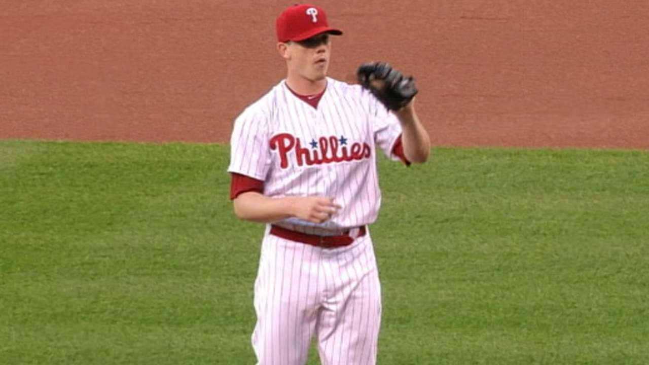 Phillies give Hellickson 2nd straight OD start