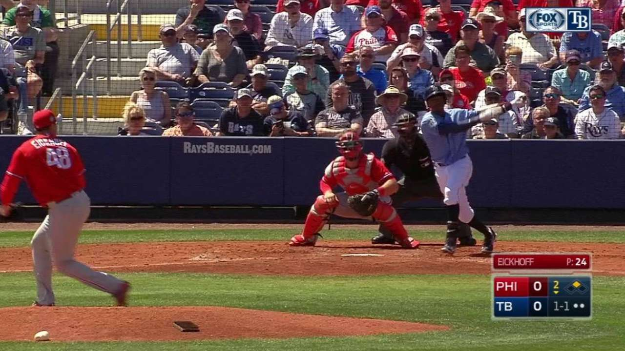 Beckham's RBI single
