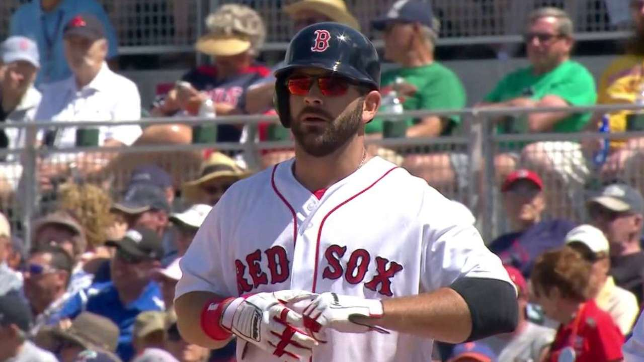 Moreland, Hanley strong against Twins