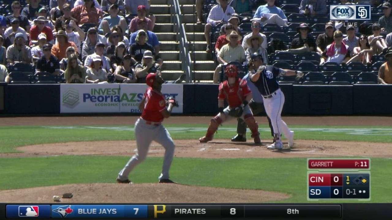Renfroe homers; Cosart allows 2 runs vs. Reds