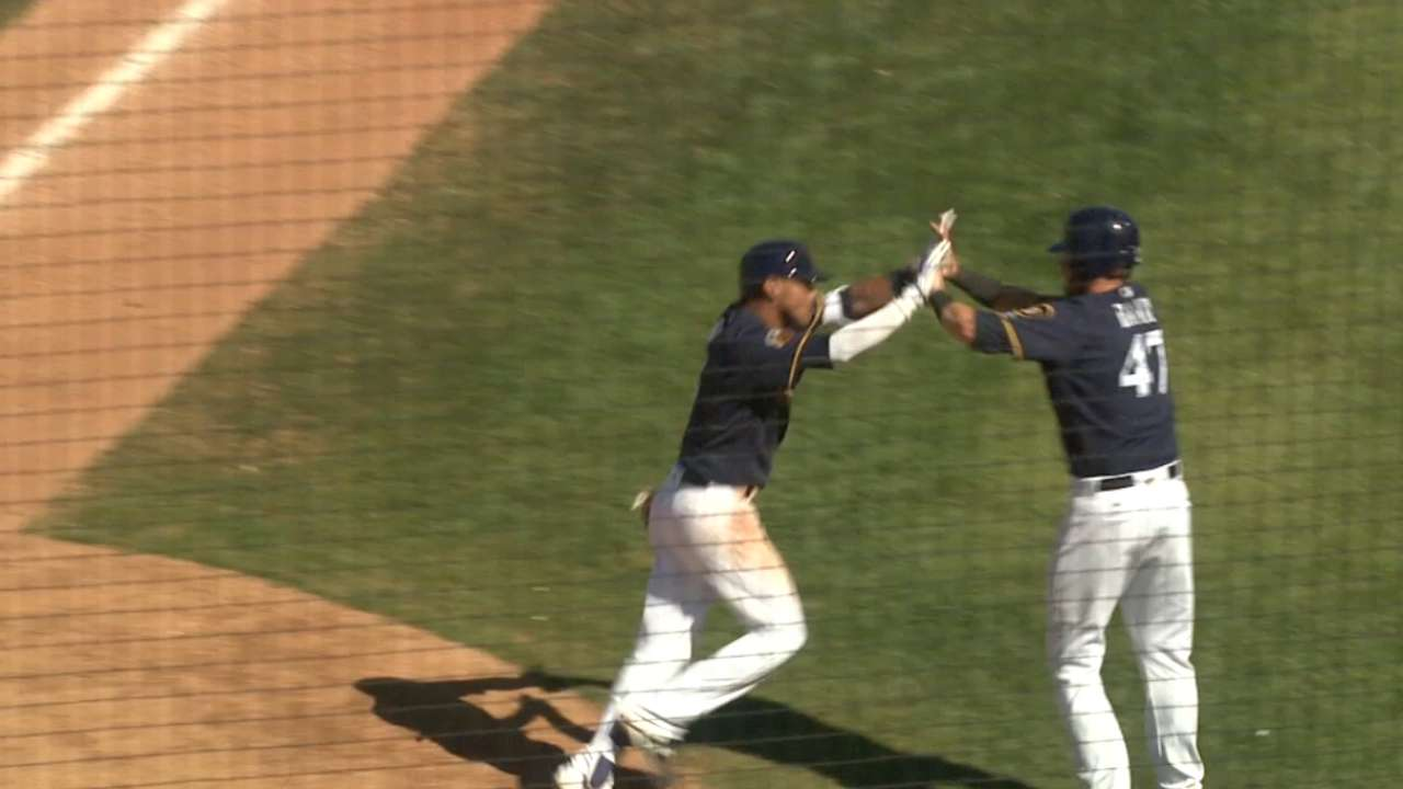 Arcia's two-run jack