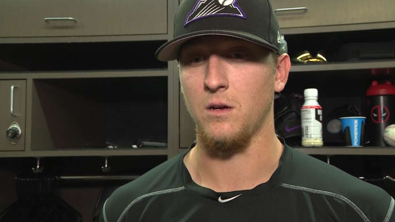 Hoffman pleased after outing
